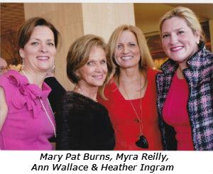 Mary Pat Burns Myra Reilly Ann Wallace and Heather Ingram