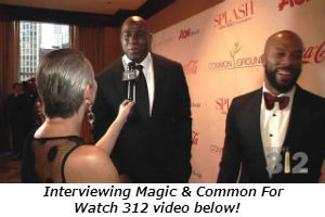 Interviewing Magic and Common for Watch312 video below!