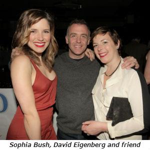 Sophia Bush David Eigenberg and friend