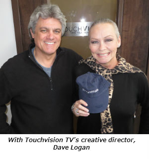 With Touchvision Creatve Director Dave Logan