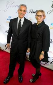 Mayor Emanuel and wife Amy Rule.