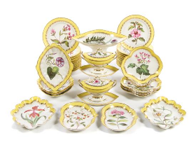 Beautiful dinnerware coming up at auction on April 25.