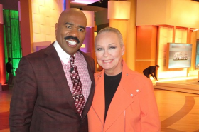 """With Steve after taping the latest """"Class Act"""" segment airing May 1st"""