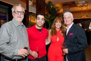Jimmy Bannos Sr., Jimmy Bannos Jr., Janine Nubani, Claudio Cozzini
