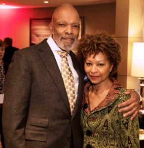 Adman Tom Burrell (Legend Award winner) with wife Madeleine