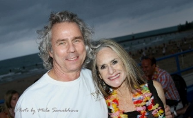Howard Tullman with wife Judy (Photo by Mila Samokhina)