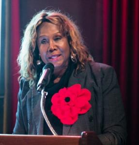Dori Wilson honors the Reillys