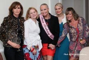 With Sheila O'Grady, Joycelyn Winnecke, Jennifer Brieva and Lori Allen