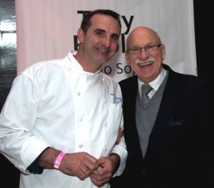 Chef Tony Priolo and George Jewell