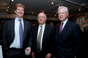 Doug Sanders, John Kleber and Richard Sanders