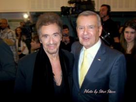 Al Pacino and Sir Michael