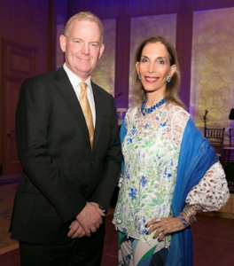 Dr. Jonathan Rubenstein, Gift of Sight Honoree and Susan Gohl, Woman of Vision