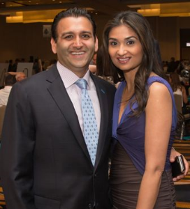 Sonny Balani and Sheetal Balani