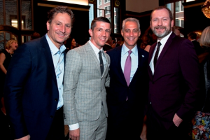 Co-chairs David Herro and Jay Franke with the Mayor and Kevin O'Hare (Royal Ballet director)