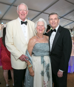 John and Judy Keller with Kevin Bell (Pres/CEO LP Zoo)
