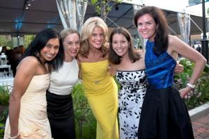 Angela Chaudhari, Dayna Goldstein, Beth Stamos, Phoebe Nitekman and Elizabeth von Peterfly
