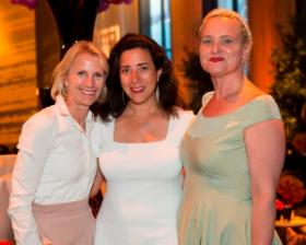 Beth Treacy, Dana Hokin and Claudette Miller.