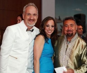 Common Threads' founders Chef Art Smith, Linda Novick O'Keefe and Jesus Salgueiro