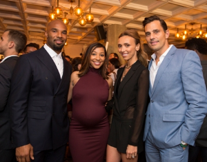 Matt Forte, Danielle Forte, Giuliana and Bill Rancic