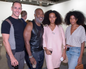 Bob Faust, Nick Cave, Solange Knowles and Armina Mussa