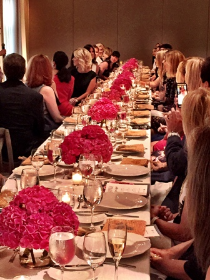 Beautiful luncheon table/beautiful ladies for CS Women of Style event.