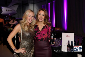 Wine Channel TV's Jessica Altieri and Romina Leopardi (Tenute Rubinos)