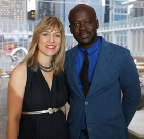 Zoe Ryan and David Adjaye