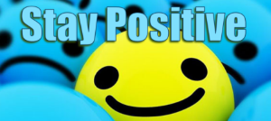 Stay Positive image
