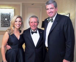 Sharyl and Mike Mackey with Gary Player