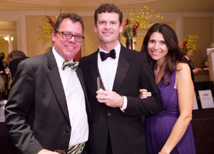 Jason Kinander, John and Lisa Celentani