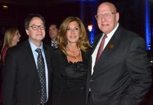 Lee Brown, Judy Bronfman and Howard Bernick