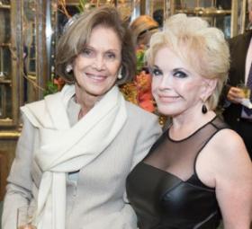 SC president Myra Reilly and Sherrill Bodine