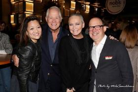 With Ji Suk Yi, Chuck and Lorin Adolph