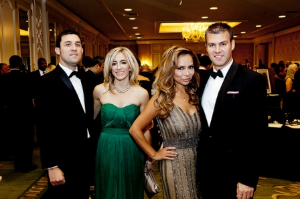 Melinda Joseph and Cece Gonzales with cute boyfriends