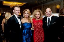 Sharon and Dan Uslan (R) and friends.