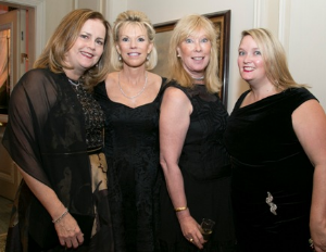 Kathy Cook, Cheri Lawrence, Courtney Pitt and friend