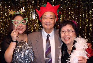 The fun loving Wong Family