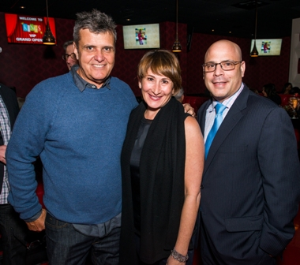 Kings founder Patrick Lyons, Carol Fox and Dan Uslan