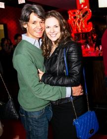 Gustaro Bilbao and Lisa Richardson