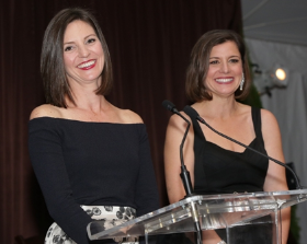 Sarah Alshouse and Bethany Crocker of Winnetka (co-chairs of the event)