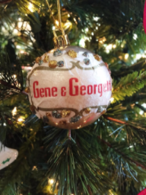 Gene & Georgetti ornament