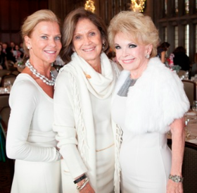 Sherry Lea Holson, Myra Reilly (president) and Sherrill Bodine