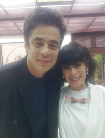 Benicio del Toro and Geraldine Chaplin at 37th Havana Film Fest