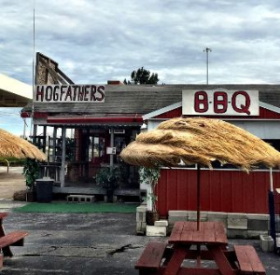 Seen driving thru Florida--the BEST name for a BBQ spot, Hogfather's!