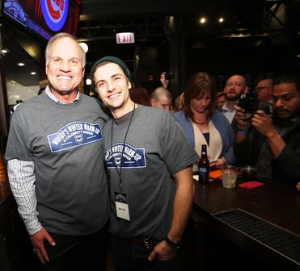Ryne Sandberg and Chicago PD's Sam Hunt