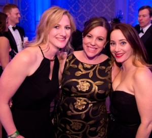 Alison Donnelly, Christina Kline and Geraldine Thompson Tillman