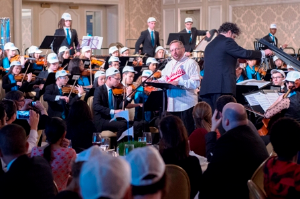 "Wayne Messmer narrates ""Casey at the Bat"" with CYSO Symphony Orchestra and music director Allen Tinkham"