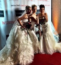 "Wedbash's model ""brides"""