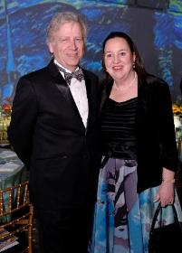 OMS president Laura de Frise with her husband Steven Rugo