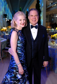 OMS VP for Programs Laurie Bay and her husband/gala chair James Bay